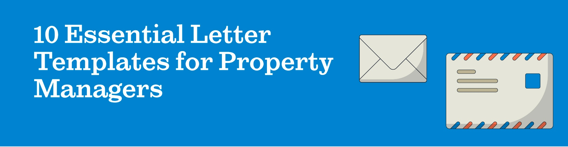 10 essential letter templates for property managers lp
